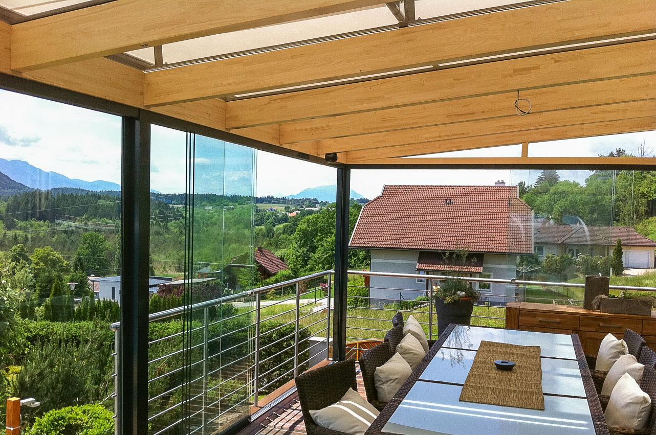 terrassen balkone glaserei willsch tz gmbh. Black Bedroom Furniture Sets. Home Design Ideas